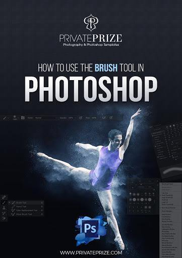 How to use the brush tool in photoshop tutorial