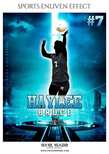 HAYLEE BRUCE-VOLLEYBALL SPORTS TEMPLATE- ENLIVEN EFFECTS