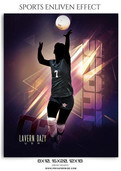 Larven Dazy - Enliven Effects - Photography Photoshop Template