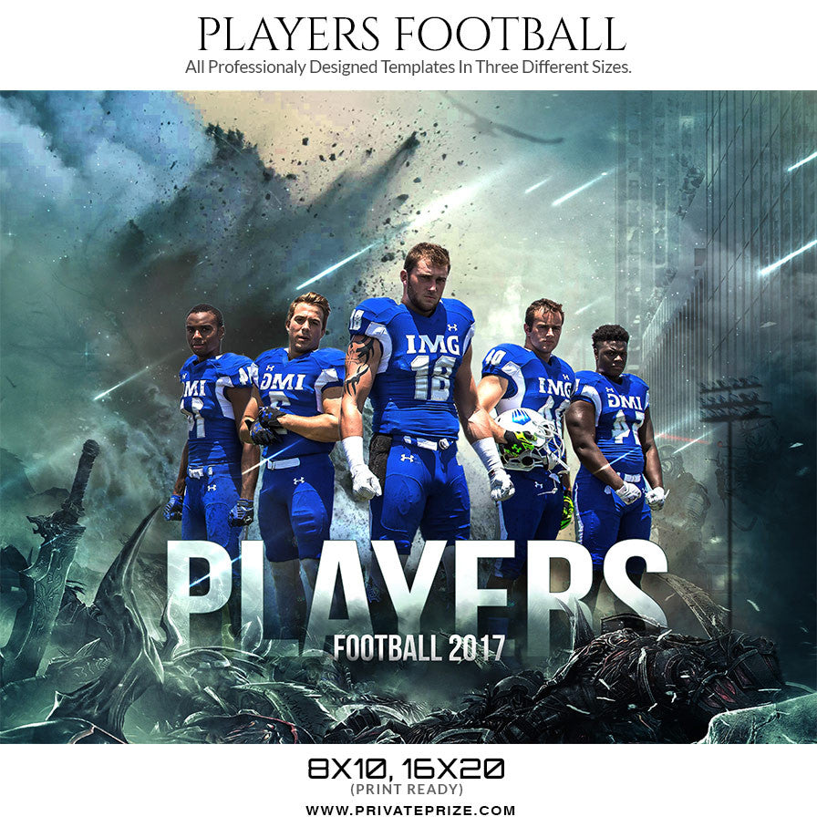 Players Themed Sports Template
