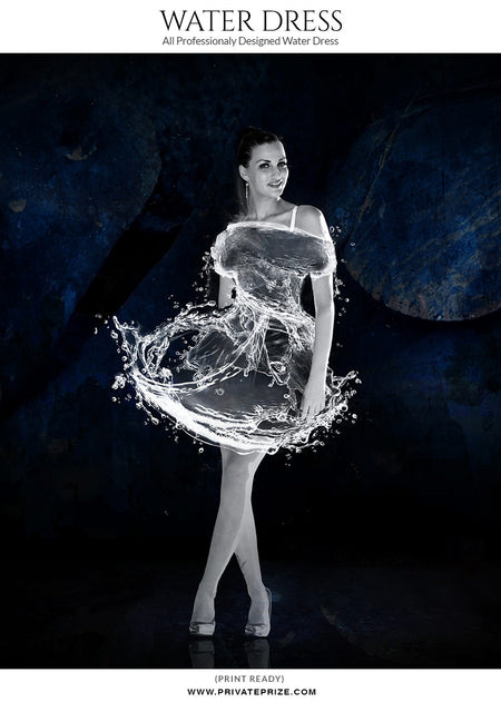 Water-Dress-DreamLike - Photography Photoshop Templates