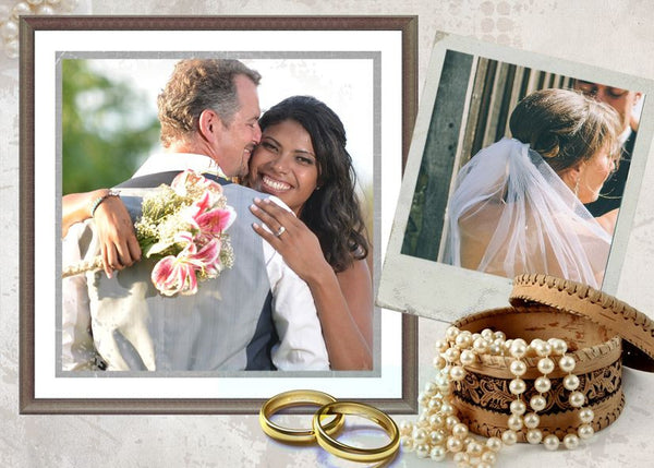 Wedding Collage Set - Mr&Mrs - Photography Photoshop Templates
