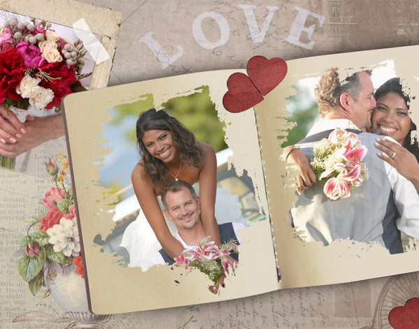 Wedding Collage Set - Two Souls - Photography Photoshop Templates
