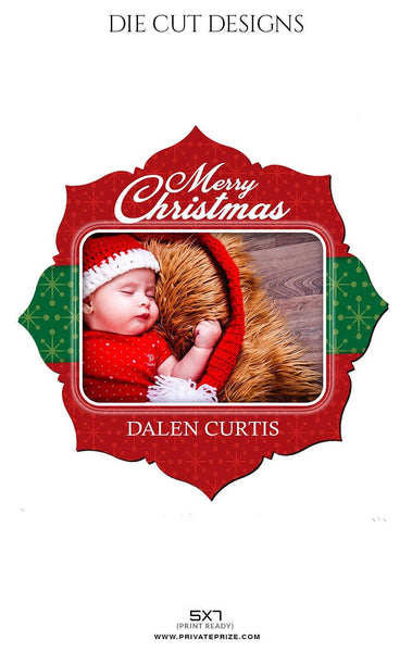 Dalen Curtis - Die Cut Design - Photography Photoshop Template
