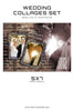 Wedding Collage Set - Whole Heart - Photography Photoshop Templates