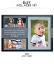Baby Collage Set - John Baby - Photography Photoshop Template