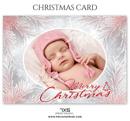Myra - Christmas Card - Photography Photoshop Template