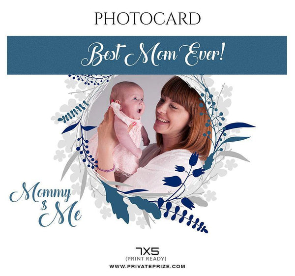 Mommy $ Me - Photo card