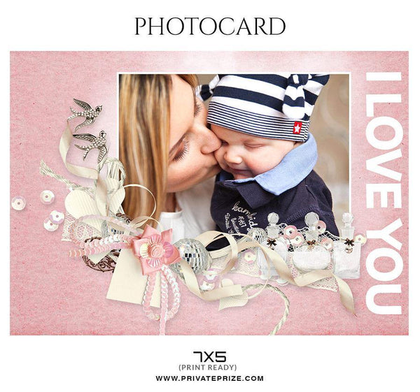 Mother's Day - Photo card