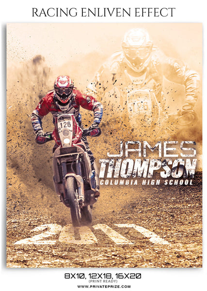 James Thompson Enliven Effect - Photography Photoshop Templates