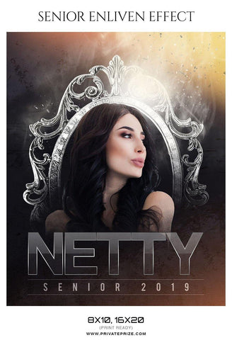 Netty - Senior Enliven Effect Photography Template