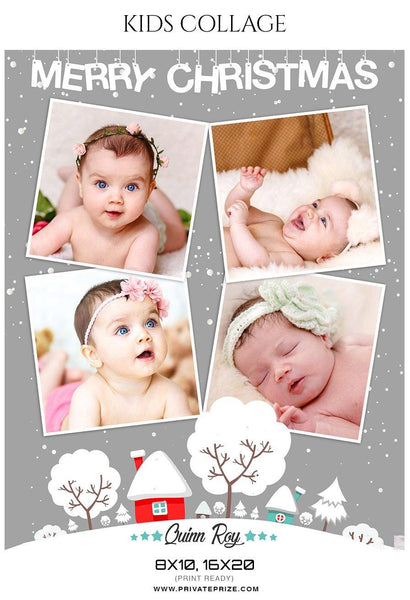 Quinn Roy - New Born Baby Collage