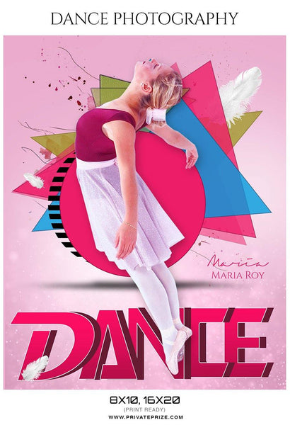 Maria Roy - Dance Photography - Photography Photoshop Template