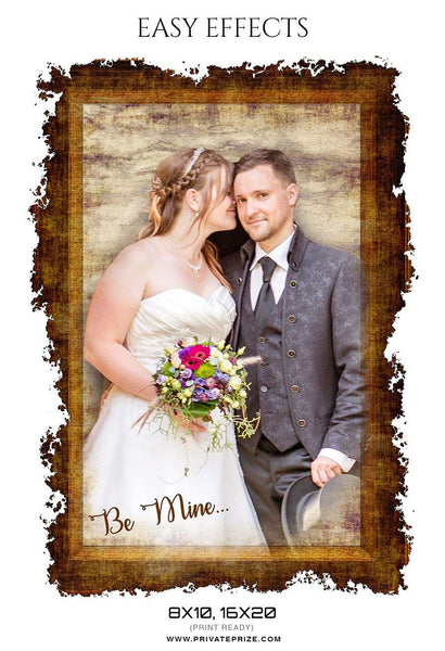 Be Mine - Easy Effects - Photography Photoshop Template