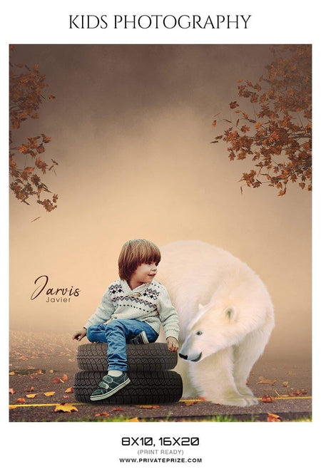 Jarvis Javier - Kids Photography Photoshop Templates - Photography Photoshop Template