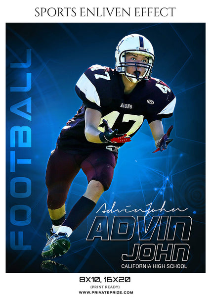 ADVIN JOHN - SPORTS ENLIVEN EFFECTS - Photography Photoshop Template