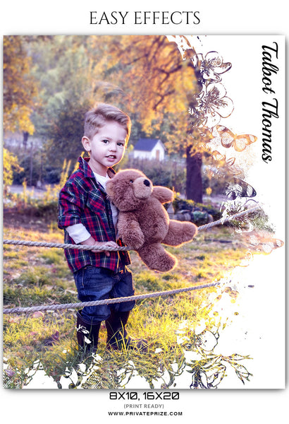 Talbot Thomas - Easy Effects Kids Photography Templates