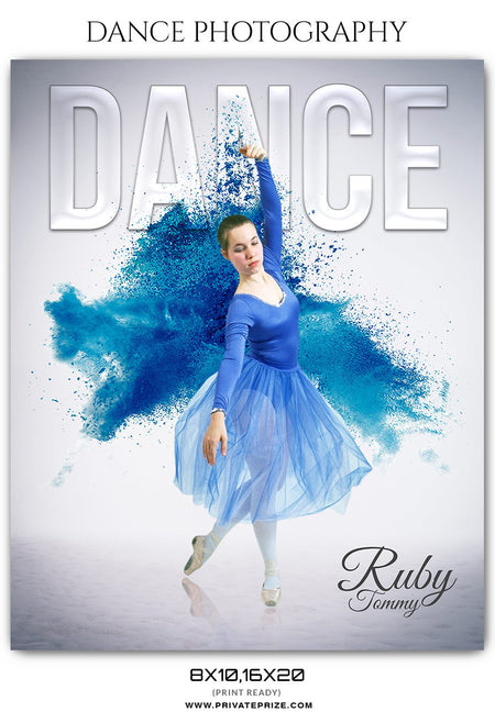 RUBY TOMMY - DANCE PHOTOGRAPHY - Photography Photoshop Template