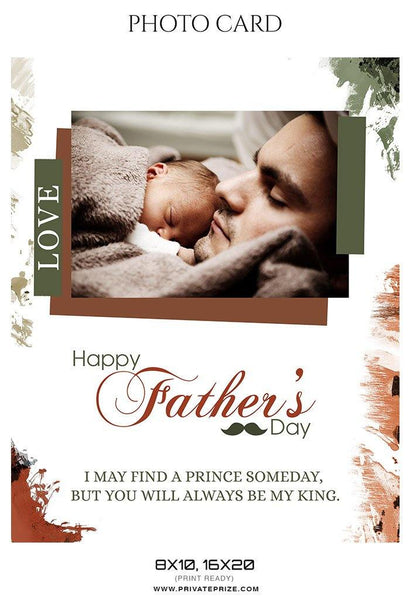 Father's Day Photocard