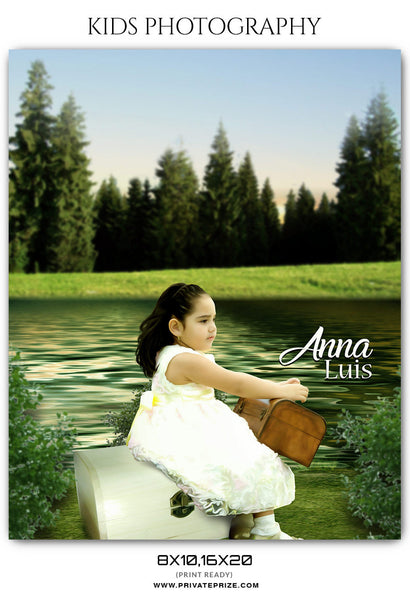 ANNA  LUIS - KIDS PHOTOGRAPHY - Photography Photoshop Template