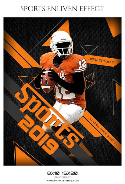 Devis Thomas - Football Sports Enliven Effect Photography Template