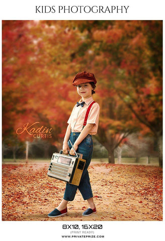 Kadin Curtis - Kids Photography Photoshop Templates