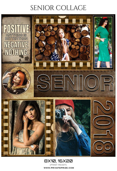 Senior Collage Photography Template