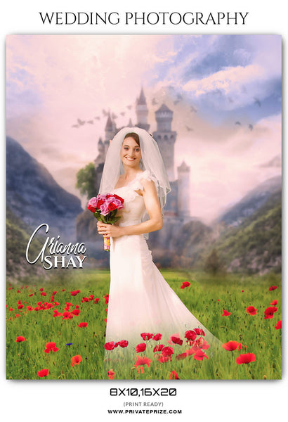 ARIANNA SHAY - WEDDING PHOTOGRAPHY - Photography Photoshop Template