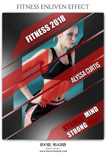 ALYSSA CURTIS FITNESS SPORTS ENLIVEN EFFECT
