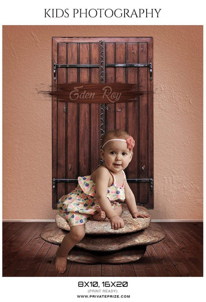 Eden Roy - Kids Photography Photoshop Templates - Photography Photoshop Template