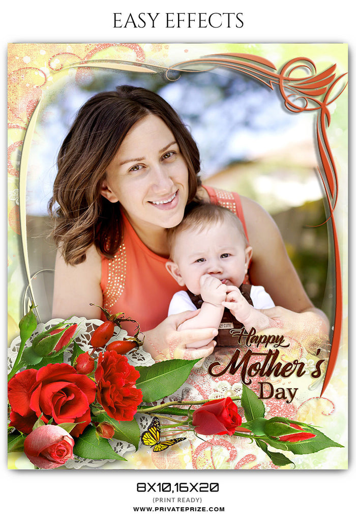 MOTHER\'S DAY FRAME - EASY EFFECT