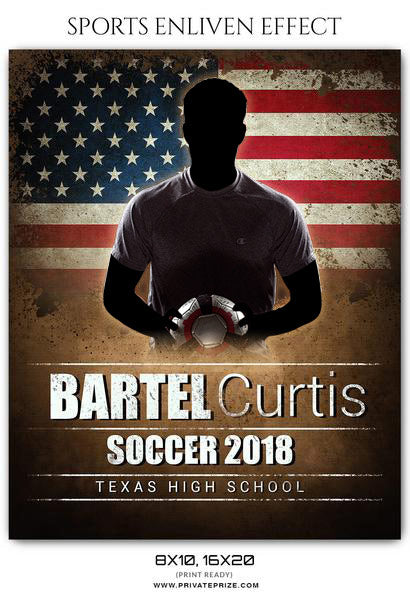 Bartel Curtis - Soccer Sports Enliven Effects Photography Template