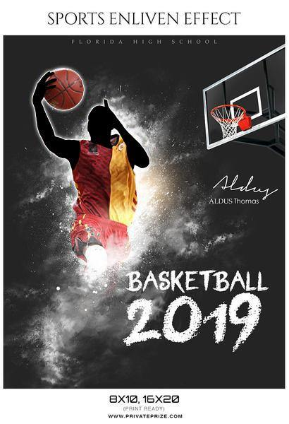Aldus Thomas - Basketball Sports Enliven Effects Photography Template