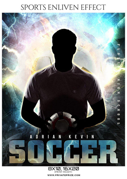 Adrian Kevin - Soccer Sports Enliven Effect Photography Template