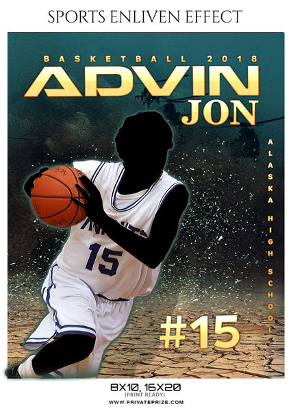 ADVIN-JON-BASKETBALL- SPORTS ENLIVEN EFFECT