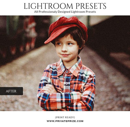 Shinning effect - LightRoom Presets Set - Photography Photoshop Template