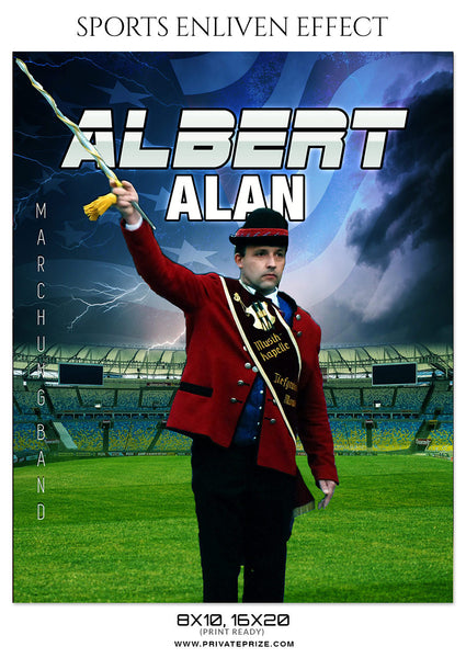 ALBERT ALAN-MARCHING BAND- SPORTS ENLIVEN EFFECT