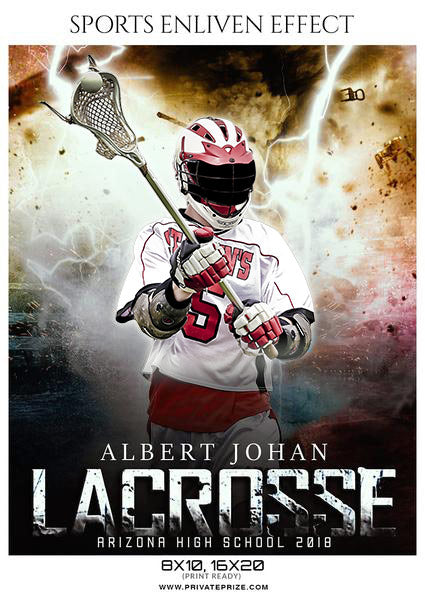 Albert Johan - Lacrosse Sports Enliven Effects Photography Template