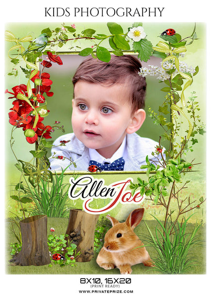 ALLEN JOE- KIDS PHOTOGRAPHY - Photography Photoshop Template