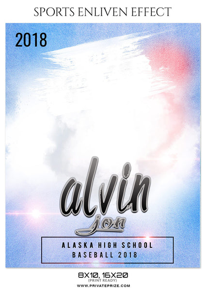 ALVIN JON BASEBALL- SPORTS PHOTOGRAPHY - Photography Photoshop Template