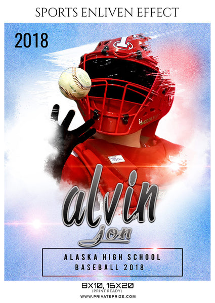 ALVIN JON BASEBALL- SPORTS PHOTOGRAPHY