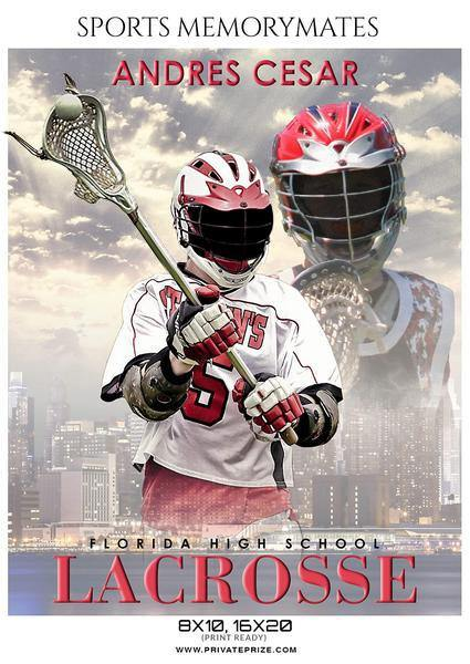Andres Cesar  - Lacrosse Memory Mate Photography Template