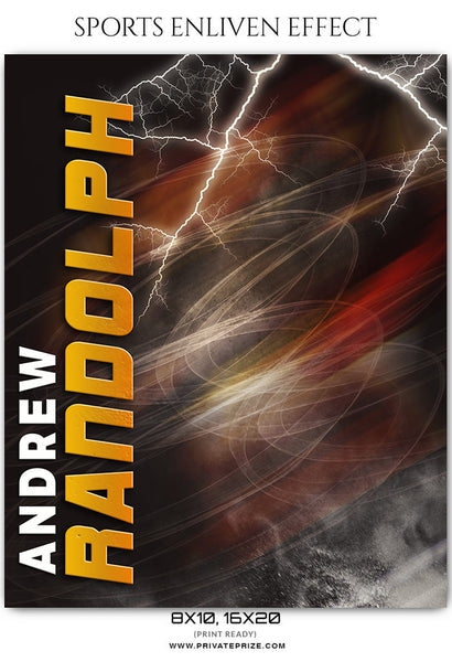 Andrew Randolph - Basketball Sports Enliven Effects Photography Template