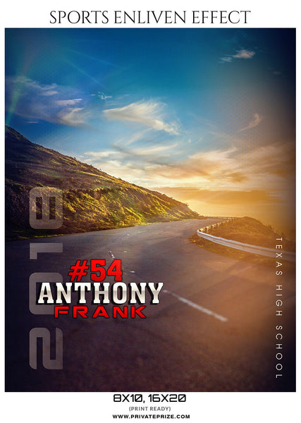 ANTHONY-FRANK-ATHLETICS- SPORTS ENLIVEN EFFECTS - Photography Photoshop Template