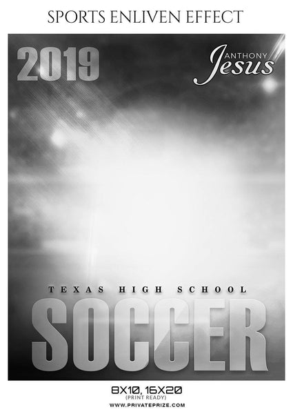 Anthony Jesus - Soccer Sports Enliven Effects Photography Template