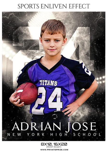 Adrian Jose - Football Sports Enliven Effect Photography Template