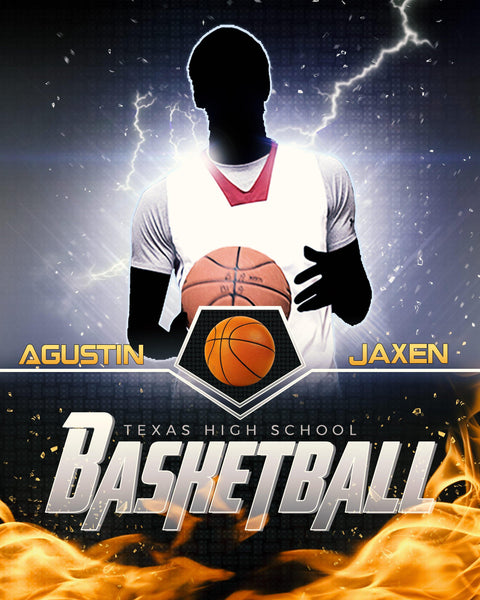 Agustin Jaxen - Basketball Sports Enliven Effects Photography Template