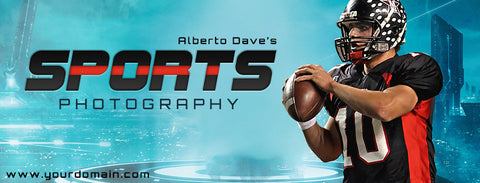 ALBERTO DAVE FB COVER - FACEBOOK TIMELINE COVER - Photography Photoshop Template