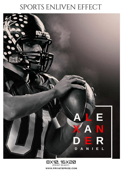 Alexander Daniel - Football Sports Enliven Effects Photography Template