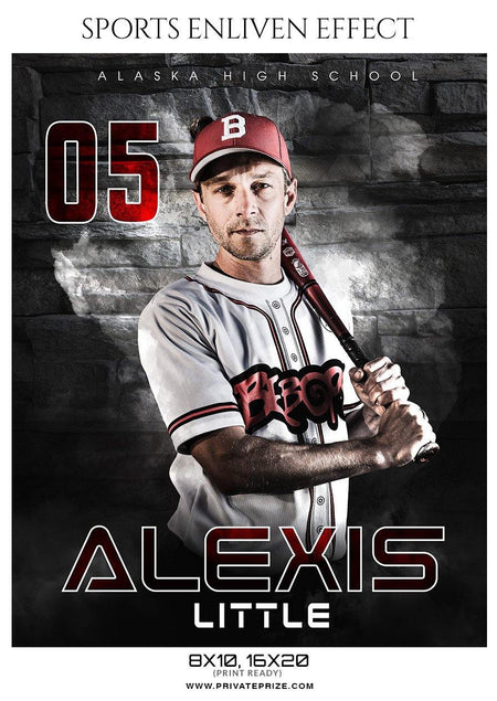 Alexis Little - Baseball Enliven Effect